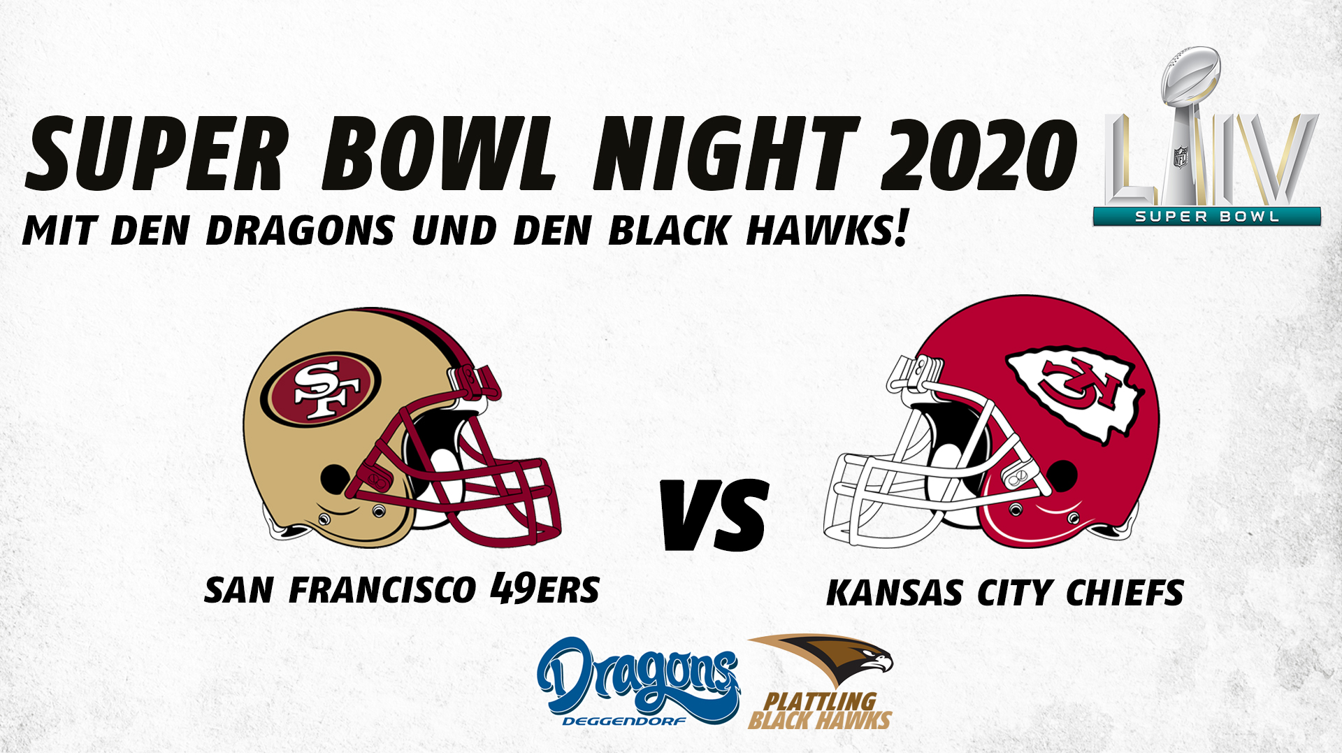 Super Bowl Night 2020 – Mit den Deggendorf Dragons